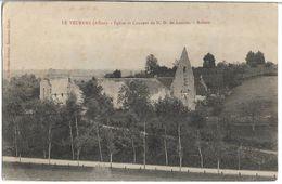 CPA - LE VEURDRE - église Et Couvent De N.D. De Lorette - Ruines - Otros Municipios