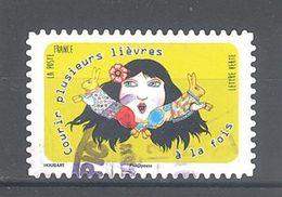 France Autoadhésif Oblitéré N°1312 (Langue Française) (cachet Rond) - France