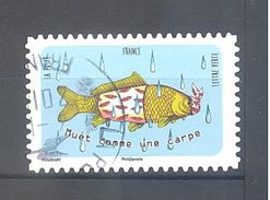 France Autoadhésif Oblitéré N°1316 (Langue Française) (cachet Rond) - France