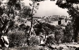 Corse - AJACCIO - Vue D'ensemble  -  Cpsm De 1955 En Très Bon état - Cachet Camping SANTA-LINA - 2 Scans - Ajaccio