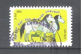 France Autoadhésif Oblitéré N°1322 (Langue Française) (cachet Rond) - France