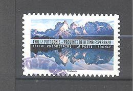 France Autoadhésif Oblitéré N°1371 (Reflets Paysages Du Monde - Chili) (cachet Rond) - France