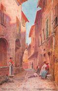 CAGNES - Vieille Rue - Illustrateur Pierre Comba - Cagnes-sur-Mer