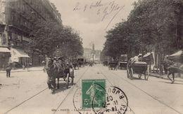 PARIS 11eme : Le Boulevard Voltaire - Arrondissement: 11