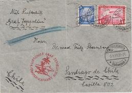 "Zeppelin Post Nach Chile , Befördert Mit ,, Graf Zeppelin "" - Germany"
