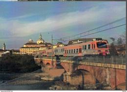 288 GTT ETR Y 530 San Benigno Canavese Torino Railroad Train Italian Railways Treni Locomotiva Fiat Ferroviaria ADtranz - Bahnhöfe Mit Zügen