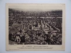 Pour L'Enseignement Vivant N°275 CAMBODGE Ruines Du Temple D'Angkor-Vat Indochine Asie - Autres