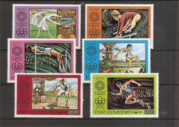 JO D'été ( 150/153 + PA 108/109 XXX -MNh- Des Comores) - Jeux Olympiques
