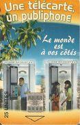 CARTE +PUCE-25U--SC7-MADAGASCAR-PUBLIPHONE-600000Ex-UTILISE-TBE - Madagascar