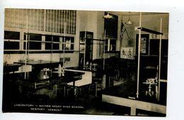 Newport High Schoole Laboratory - Etats-Unis