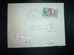 LR (PLI) TP DUNKERQUE 0,95 OBL.26-11-1963 ST DENIS SEINE (93) - Postmark Collection (Covers)