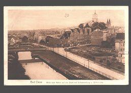 Kleve / Bad Cleve - Blick Vom Hafen Auf Die Stadt Mit Schwanenburg U. Stiftstkirche - 1922 - Army Post Belgium - Kleve