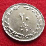 Iran 20 Rials 1988 / 1367 KM# 1236  Lt 268  Irão Persia Persien - Iran
