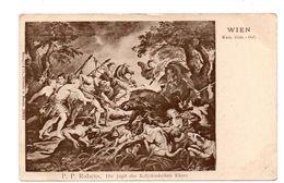 "ART . TABLEAU . P. P. RUBENS . "" DIE JAGD DES KALYDONISCHEN "" . WIEN - Réf. N°6906 - - Peintures & Tableaux"