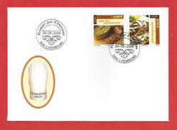 Luxembourg  2005  Mi.Nr. 1673 / 1674 , EUROPA CEPT - Gastronomie - FDC - 24-05-2005 - Europa-CEPT