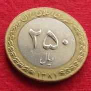 Iran 250 Rials 2002 / 1381 KM# 1262  Lt 436  Irão Persia Persien - Iran
