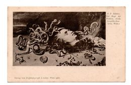 "ART . TABLEAU . P. P. RUBENS . "" DER KOPT MEDUSA "" . WIEN - Réf. N°6908 - - Peintures & Tableaux"
