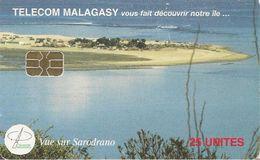 CARTE +PUCE-25U--SA2-MADAGASCAR-VUE Sur SARODRANO-UTILISE-1200000Ex--BE - Madagascar