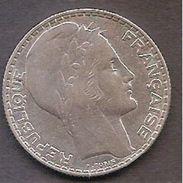 FRANCIA,10 FRANCOS 1938,PLATA,EXCELENTE. - Francia