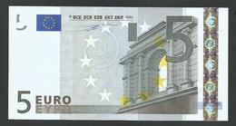"Greece  ""Y""  5  EURO GEM UNC! Duinseberg Signature! Printer N001G1!! - EURO"
