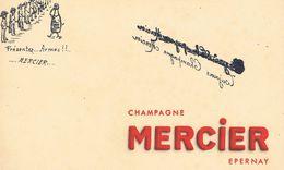 "ANCIEN BUVARD "" Champagne MERCIER "" Epernay - Blotters"