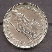 SUIZA,1 FRANCO 1964,PLATA,EXCELENTE. - Suiza