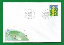 Estland / Eesti  2000  Mi.Nr. 371 , EUROPA CEPT - Kinder Bauen Einen Sternenturm - FDC - 09.05.2000 - Europa-CEPT