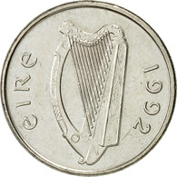 IRELAND REPUBLIC, 5 Pence, 1992, TTB+, Copper-nickel, KM:28 - Ireland