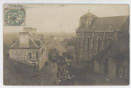 SAINT BROLADRE Carte Photo Sortie De Messe - Francia