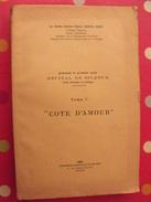 Cote D'amour. Poète-auteur Marie Santa-Cruz. 1951. Saigon. Combattants D'Indochine. Poésie. Numéroté 488 - Books, Magazines, Comics