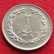 Iran 2 Rials 1980 / 1359 KM# 1233  Lt 313  Irão Persia Persien - Iran