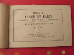 Nouvel Album De Paris. 95 Gravures Très Fines. Vers 1860. Lacroix Verboeckhoven - Livres, BD, Revues