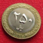 Iran 250 Rials 1998 / 1377 KM# 1262  Lt 397  Irão Persia Persien - Iran