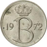 Belgique, 25 Centimes, 1972, Bruxelles, TTB, Copper-nickel, KM:154.1 - 02. 25 Centimes