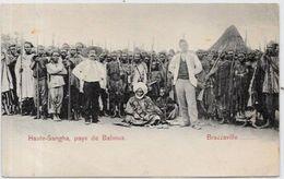 CPA Congo  Afrique Noire Type Ethnic Haute Sanga Pays De Baboua Non Circulé - Brazzaville