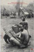 CPA Congo  Afrique Noire Type Ethnic Kouango Musiciens LINDAS Non Circulé - Congo Français - Autres