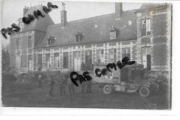 80 FINS CHATEAU AMBULANCE CARTE PHOTO ALLEMANDE - Autres Communes