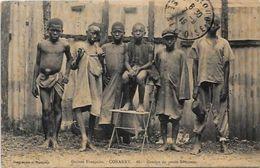 CPA Guinée Afrique Noire Type Ethnic  Circulé - Guinée Française