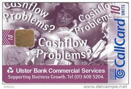 IRELAND - Ulster Bank, Tirage 7000, 03/97, Used - Ireland