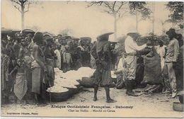 CPA Dahomey Afrique Noire Type Ethnic Métier Marché  Non Circulé - Dahomey