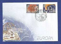 Belarus / Weißrussland  2009  Mi.Nr. 763 / 764 , EUROPA CEPT - Astronomie - FDC - 15.04.2009 - 2009
