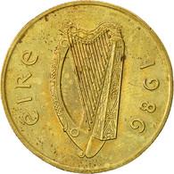 IRELAND REPUBLIC, 20 Pence, 1986, TTB, Nickel-Bronze, KM:25 - Ireland