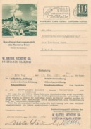"""PK 193  """"Rheumabad Baden""""  (Brandversicherungsanstalt Des Kantons Bern)            1963 - Interi Postali"""