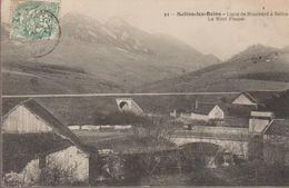 Salins Les Bains- Ligne De Mouchard A Salins, Le Mont Poupet - France