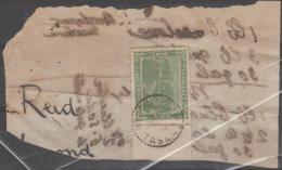 TASMANIA - 1910 Receipt, Postmarked Richmond - 1853-1912 Tasmania
