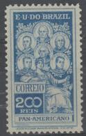 BRAZIL - 1909 200r Pan-American. Scott 191. Mint - Brasilien