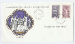 1978 LUXEMBOURG Europa FDC Special Cover By International Postmasters Society, Stamps - FDC