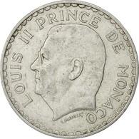 Monaco, Louis II, 5 Francs, 1945, Poissy, TTB, Aluminium, KM:122 - Monaco