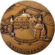 France, Medal, Chasse à Rambouillet, 1977, Baron, SPL, Bronze - France