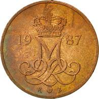 Danemark, Margrethe II, 5 Öre, 1987, Copenhagen, TTB, Copper Clad Iron - Denmark